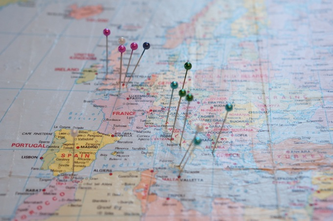 How to make a Pinboard map