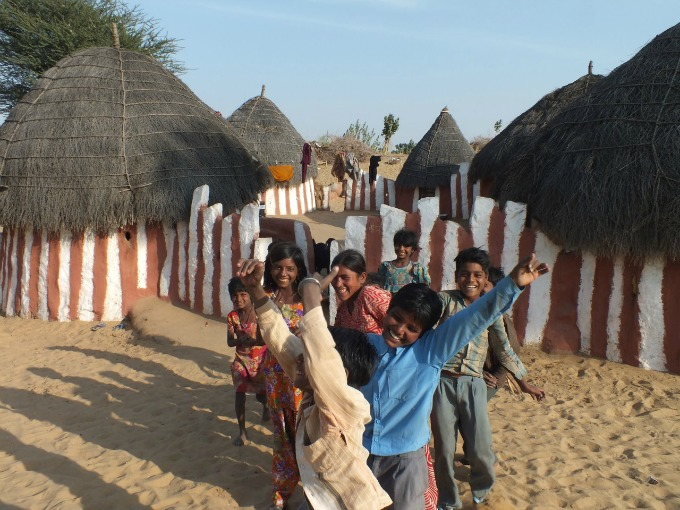 Visit the children in Hacra village, India: Travelling with a conscience