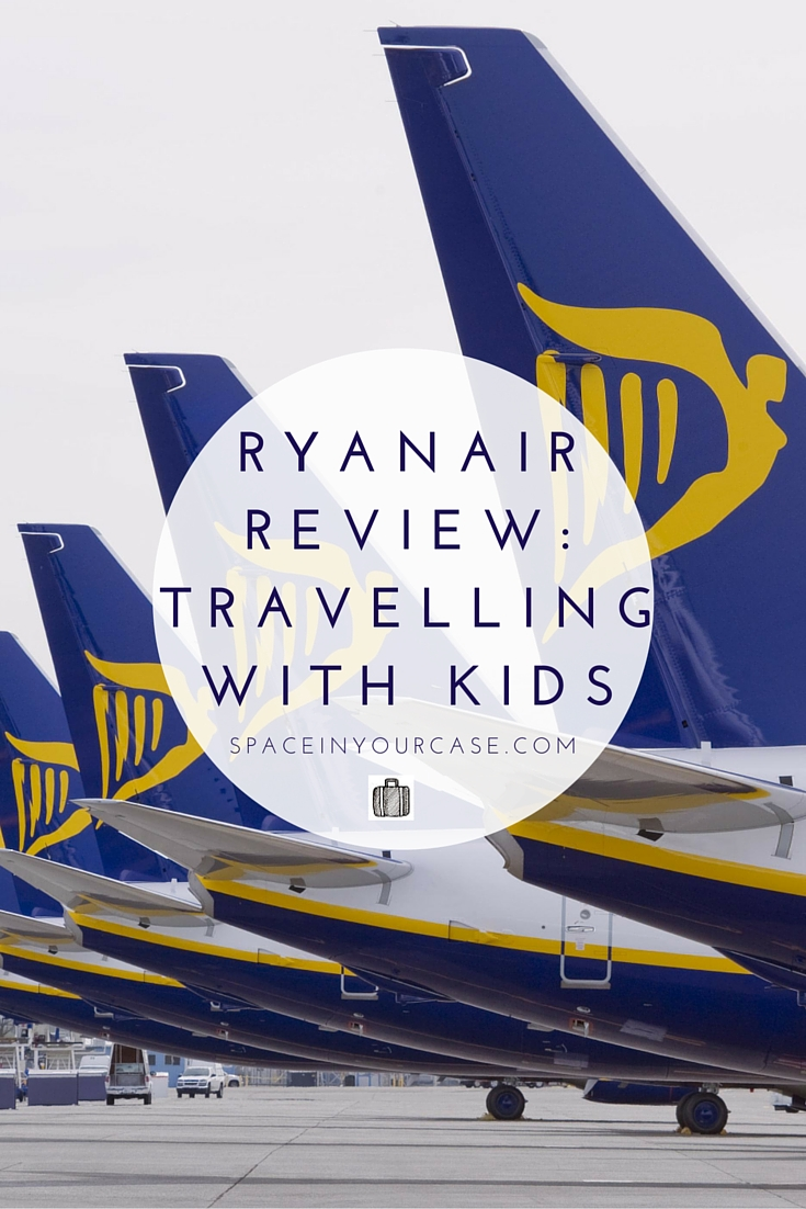Review of Ryanair: travelling with children