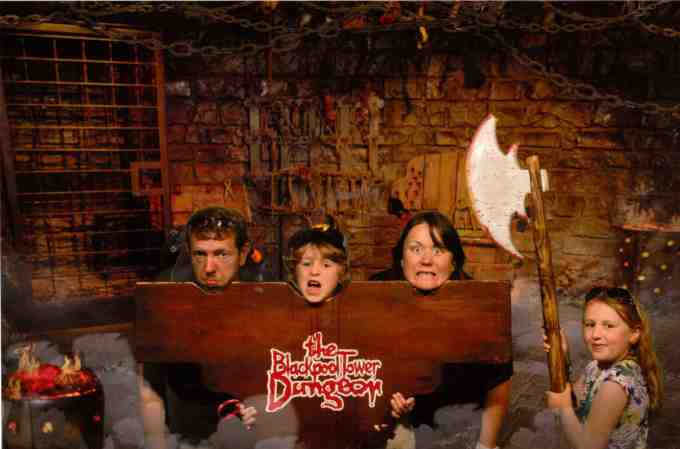 blackpool dungeon