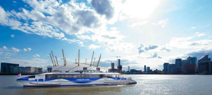 Take a Thames Clipper to the O2 at Greenwich for an action-packed day along the Thames