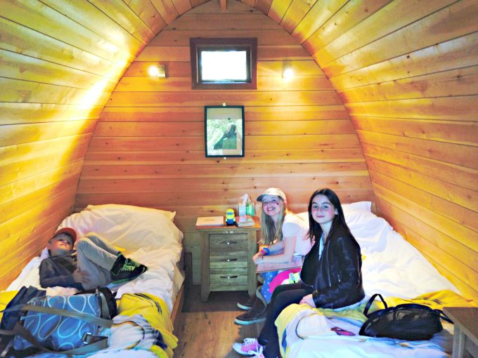 Glamping at the zoo: inside the Lookout Lodges at Whipsnade it's very comfortable