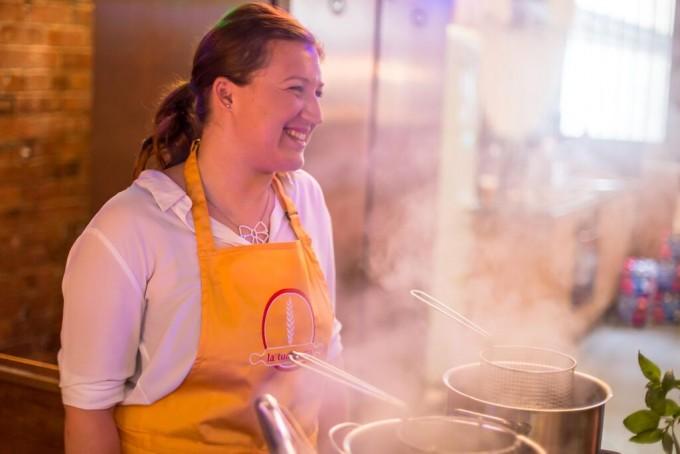 Jessica of La Tua Pasta, Borough Market