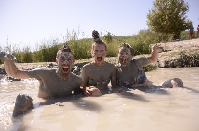 Mud Bath on the Jeep Safari from Sensatori Fethiye