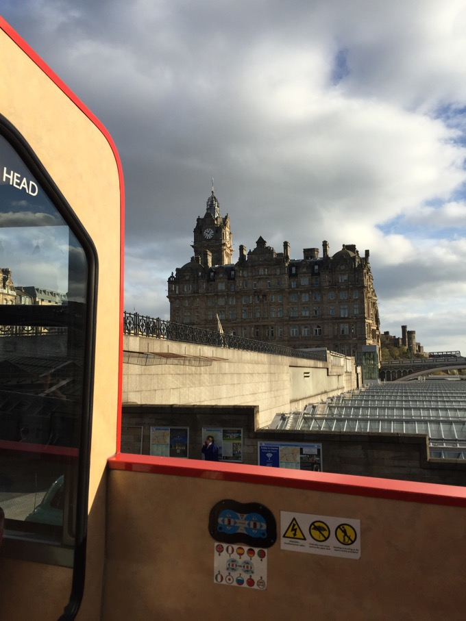Edinburgh Hop On Hop Off Bus tour
