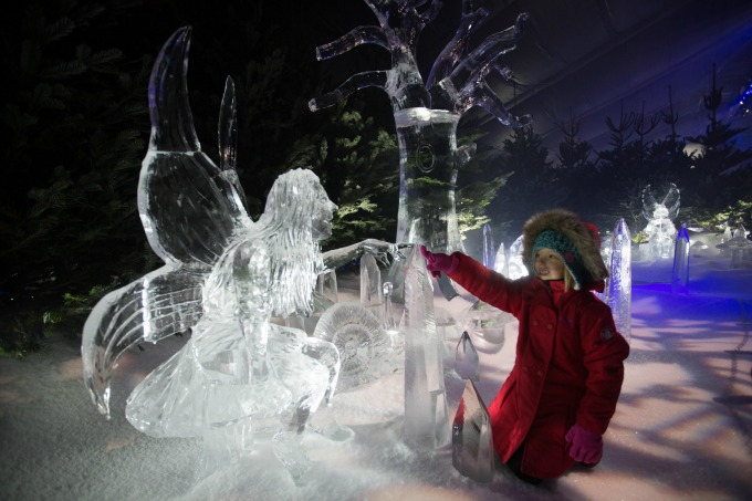 Christmas events for families in London - Winter Wonderland is huge, and covers all angles!