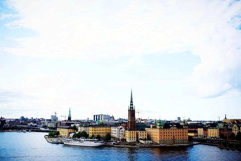 Monteliusvagen - Stockholm with children