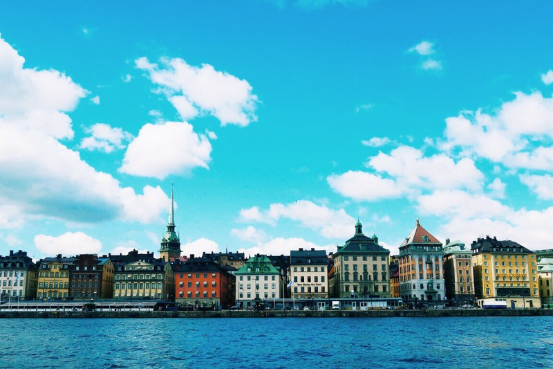 Stockholm with children boat ride
