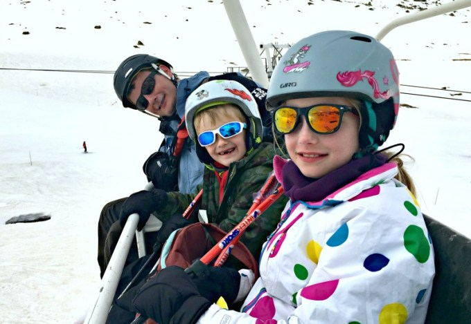 Tips on driving to a ski resort as a family