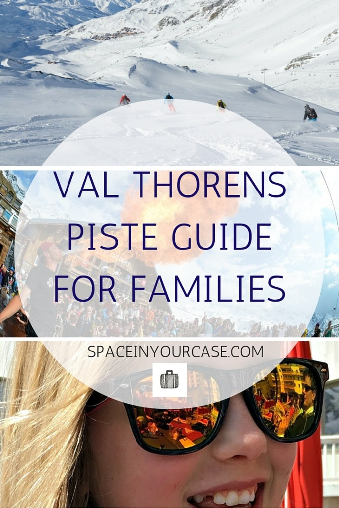 VAL THORENS piste guide for families