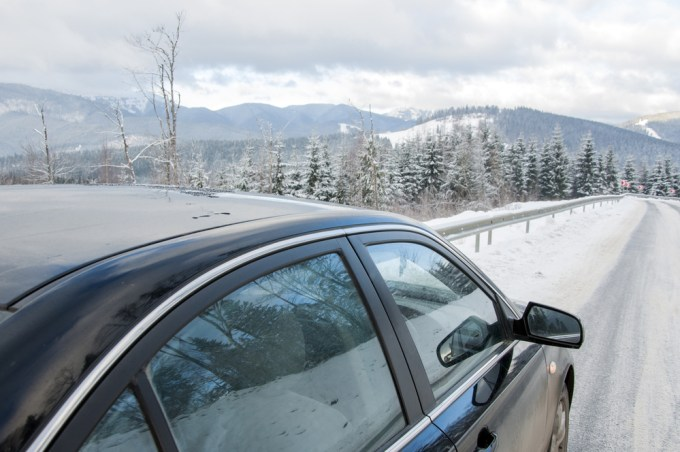 Tips on driving to a ski resort