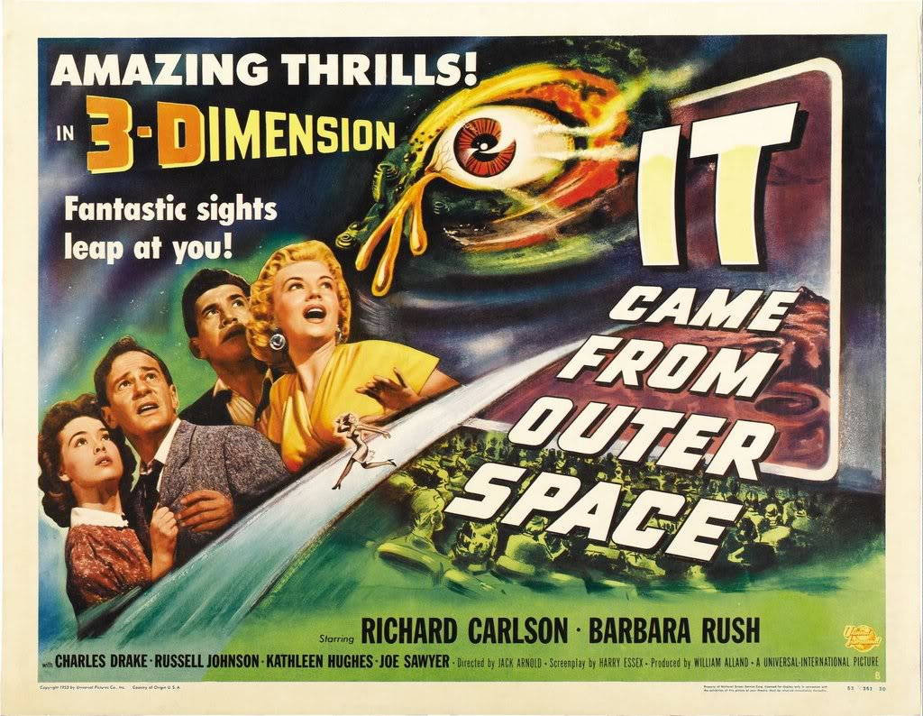 History and such for Outer space movies
