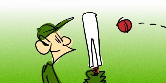 Cricket Cartoon