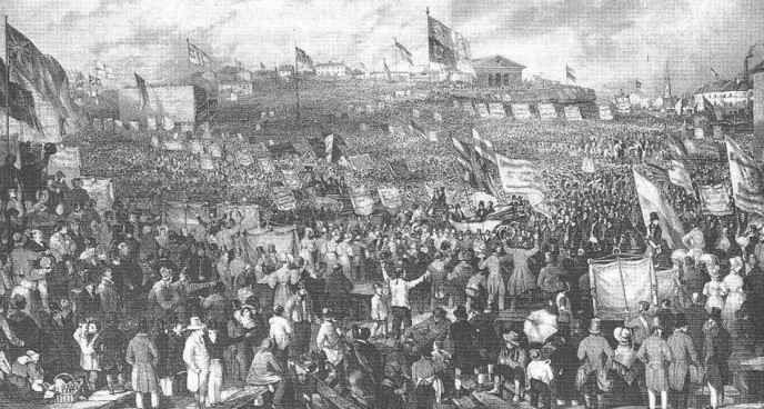 The Gathering of the Unions, 1832