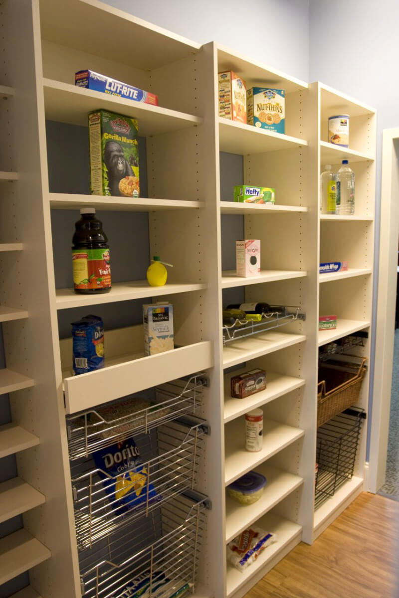 Atlanta Pantry Storage Solutions Spacemakers Custom Closets