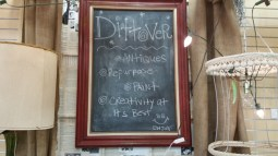 Converting pictures and frames to chalkboard is a common Dittover item.