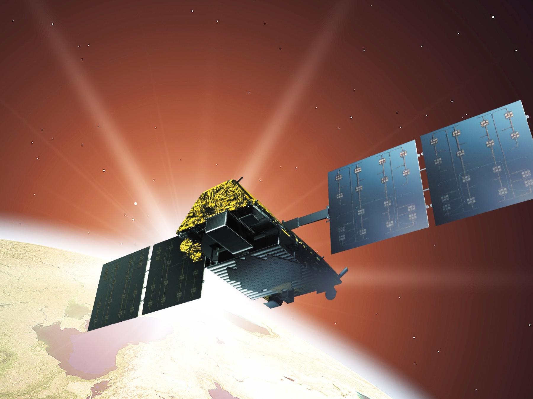 Image result for iridium satellite