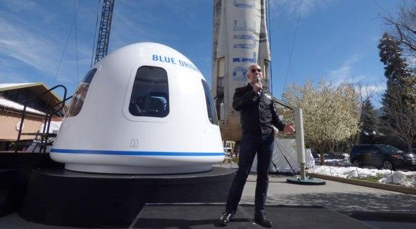 Blue Origin still planning commercial suborbital flights ...
