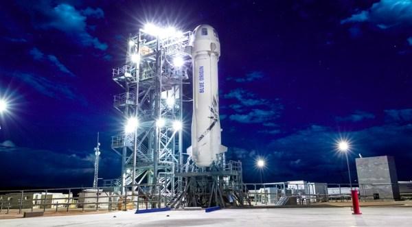 Blue Origin gearing up for next New Shepard test flight ...