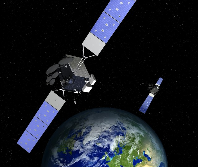 Northrop Grumman To Build Two Triple Payload Satellites For Space