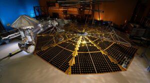 Lucy solar array