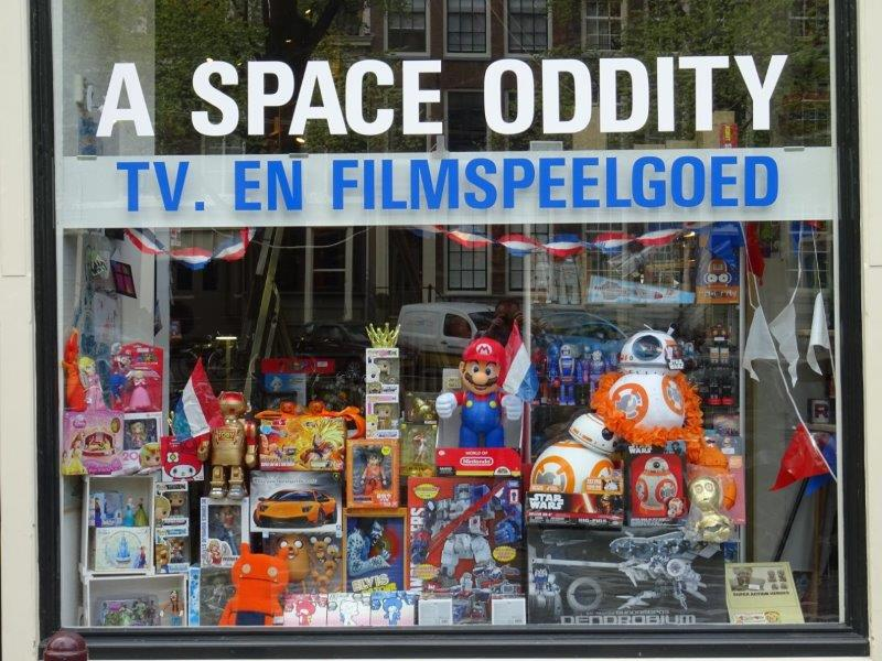 A Space Oddity Amsterdam Action Figures Toy Store A Space
