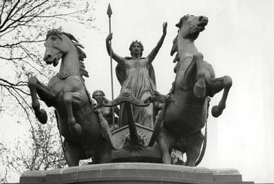 Boudicca fu protagonista di un'altra notoria rivolta armata di sola gentilezza nel I secolo d.C.