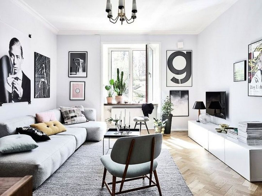 space-optimized-minimalist-living-room-small-apartment-2 ... on Minimalist Living Room Design  id=36800