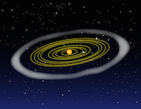 Where does the solar system end NASA Space Place