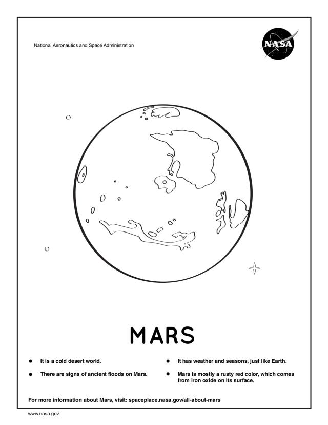 NASA Coloring Pages  NASA Space Place – NASA Science for Kids