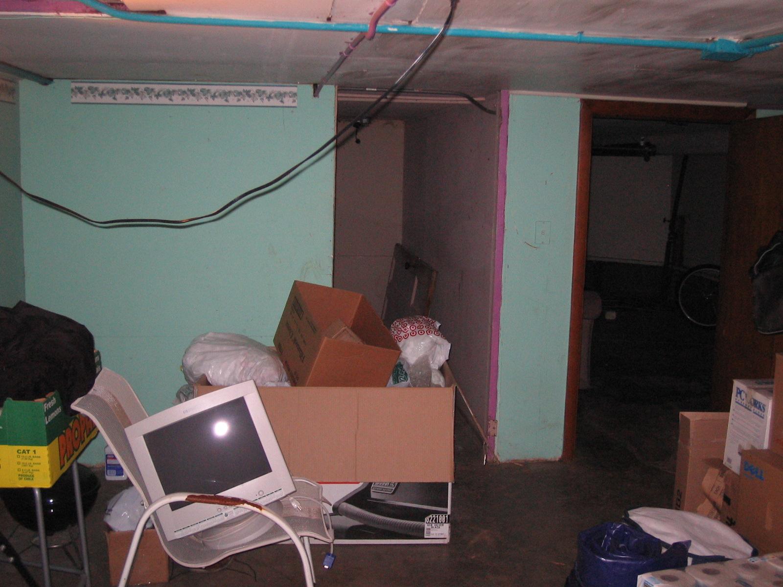 old basement walls