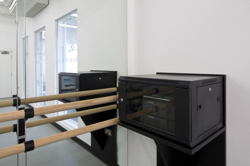 Image of Laine Theatre Arts dance studio I.T. & AV server box