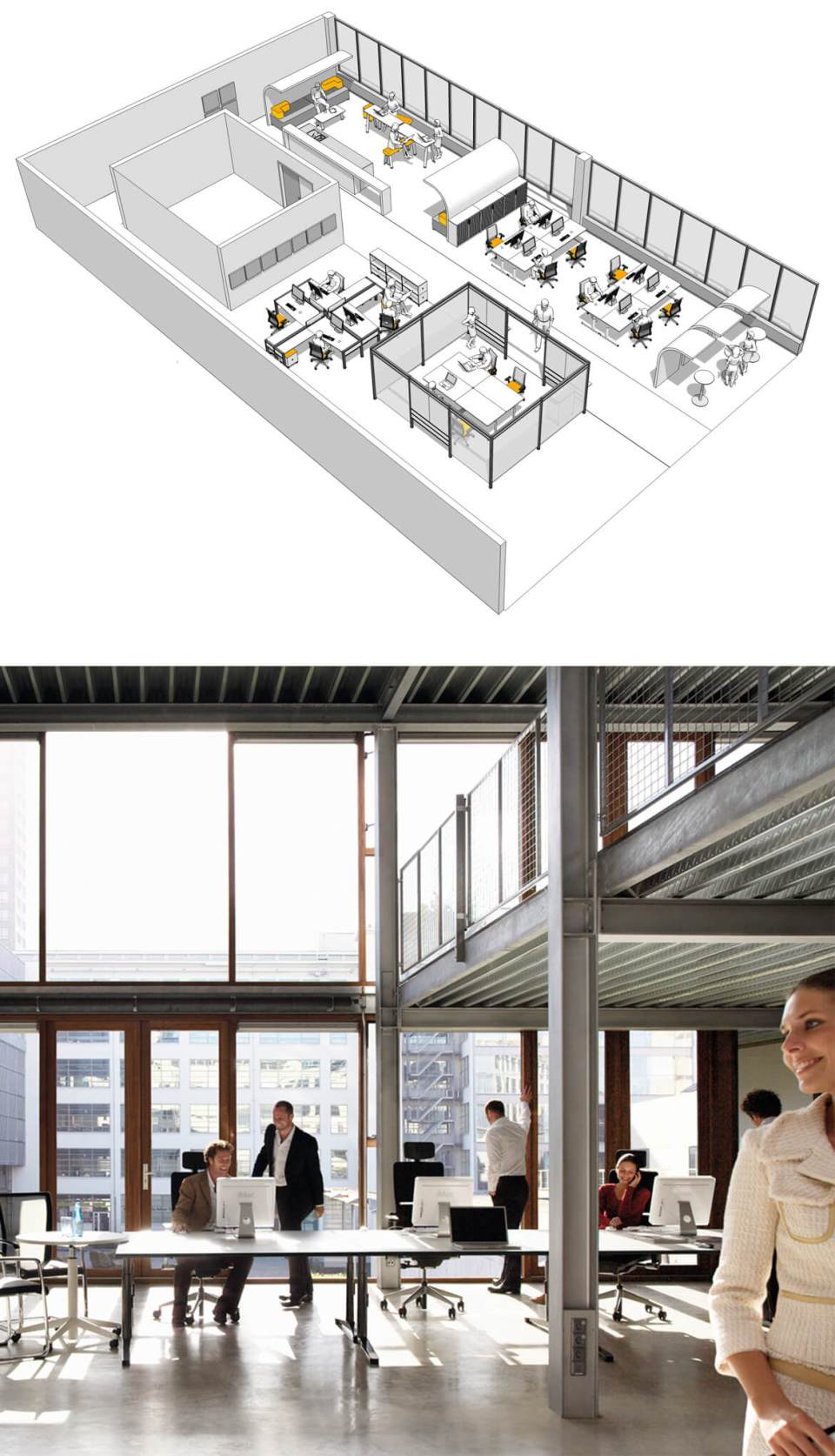 internal office pods. Office Space Planning - Image Of Collaborative Working Furniture Internal Pods S