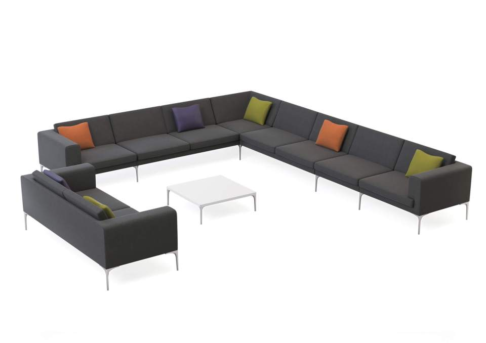 Picture of Orangebox Vale Reception Sofa Seating