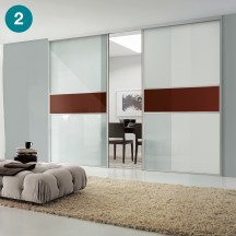 Switch doors for stunning room divides.