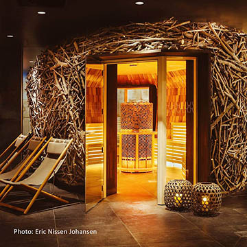 Unique sauna