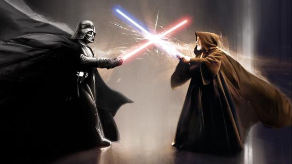 darth vader vs obi wan kenobi