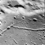 Rilles on Alphonus Crater