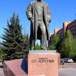 Monument in Korolyov