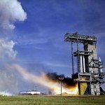 Saturn I Test Firing