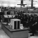 11/16/63 Blkhouse 37, NASA new Manned Space Flight chief George Mueller briefed. JFK there 6 days before his death