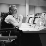 Kranz at his console in 1965