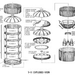 Saturn S-II Stage Exploded View