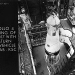 Apollo 4 mating of SC -017 with Saturn 501