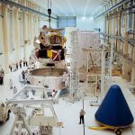 LM 1 mated to the spacecraft lunar module adapter