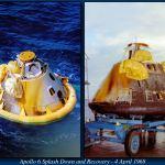 Apollo 6 splashdown and recovery
