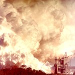 Test firing of S-II Stage in Mississippi