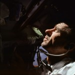 Cunningham during the Apollo 7 mission