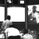 Mission Control watches first live TV from Apollo 7