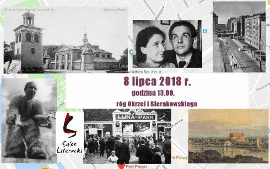 """Spacer Literacki """"Z Portu Praskiego na Pragę II"""""""